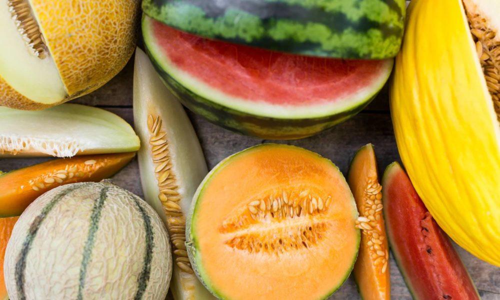 Melões e melancias: o sabor do verão